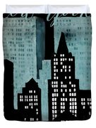 New York Art Deco Duvet Cover