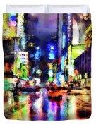 New York At Night - 14 Duvet Cover