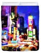 New York At Night - 15 Duvet Cover
