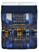 New York Blues Duvet Cover