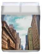 New York Buildings Duvet Cover
