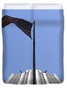 New York City - Chrysler Building 003 Duvet Cover
