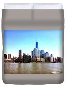 New York City Cityscape Duvet Cover