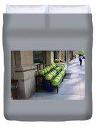 New York City Market Duvet Cover
