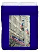 New York City Patriotism Duvet Cover
