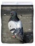 New York City Pigeons # Duvet Cover