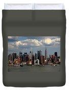 New York City Skyline 4 Duvet Cover