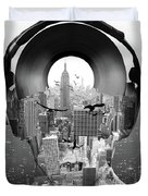 New York City Sound Duvet Cover