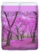 New York City Springtime Duvet Cover