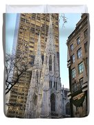 New York City St. Patrick's Cathedral Duvet Cover