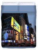 New York City Times Square Duvet Cover