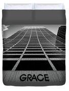 New York City - W. R. Grace Building Duvet Cover