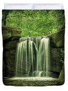 New York City Waterfall Duvet Cover