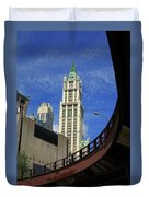 New York City - Woolworth Building Duvet Cover