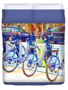 New York Citybike 2 Duvet Cover