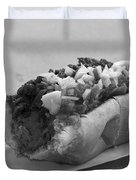 New York Corner Deli Dog Duvet Cover