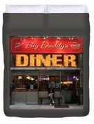 New York Diner 1 Duvet Cover