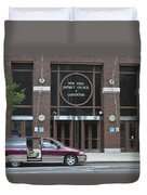 New York District Council Of Carpenters Duvet Cover