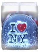 New York Greetings  Duvet Cover
