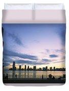 New York Hudson River Duvet Cover