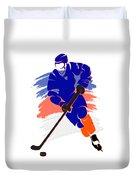 New York Islanders Player Shirt Duvet Cover