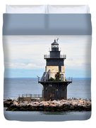New York Lighthouse-3 Duvet Cover