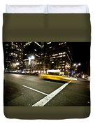 New York Minute Duvet Cover