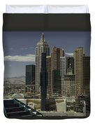 New York New York View 2 Duvet Cover
