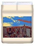 New York Ny Duvet Cover