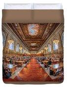 New York Public Library Main Reading Room I Duvet Cover