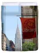 New York Scene Duvet Cover