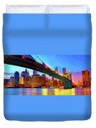 New York Skyline 11 Duvet Cover