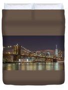New York Skyline - Brooklyn Bridge - 6 Duvet Cover