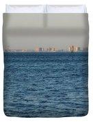 New York Skyline Duvet Cover