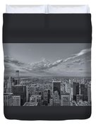 New York Skyline - View On Central Park - 2 Duvet Cover
