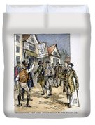 New York: Stamp Act , 1765 Duvet Cover