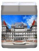 New York State Capitol Duvet Cover