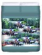 New York State Police Color Guard  1 Duvet Cover