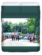 New York State Police Color Guard  2 Duvet Cover