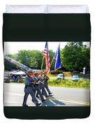 New York State Police Color Guard  6 Duvet Cover