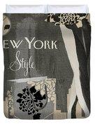 New York Style I Duvet Cover