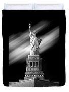 New York Time Duvet Cover