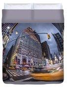 New York Time Square  Duvet Cover
