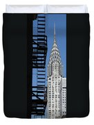 New York Watercolor 3 Duvet Cover