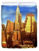 New Yorker Duvet Cover