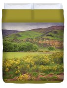 New Zealand Countryside Duvet Cover