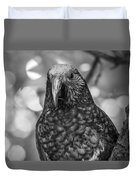 New Zealand Kaka Duvet Cover