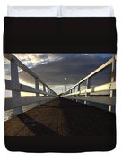 New Zealand - Orakei Wharf Duvet Cover