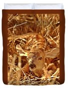 Newborn Fawn Duvet Cover