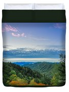 Newfound Gap. Duvet Cover